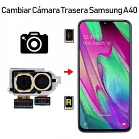 Cambiar Cámara Trasera Samsung Galaxy A40