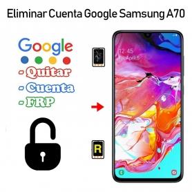 Eliminar Cuenta Google Samsung Galaxy A70 SM-A705F