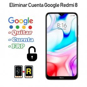 Eliminar Cuenta Google Redmi 8