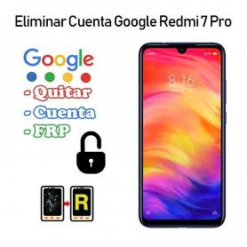 Eliminar Cuenta Google Redmi 7 Pro