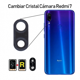 Cambiar Cristal Cámara Trasera Redmi 7
