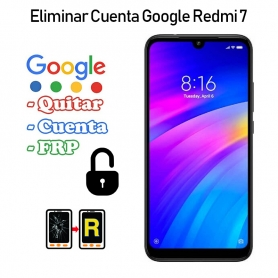 Eliminar Cuenta Google Redmi 7