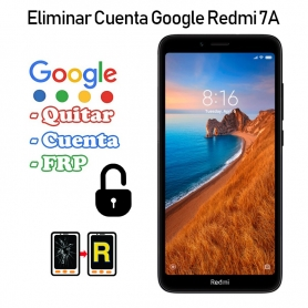 Eliminar Cuenta Google Redmi 7A