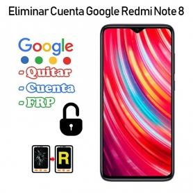 Eliminar Cuenta Google Redmi Note 8