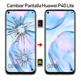 Cambiar Pantalla Huawei P40 Lite