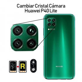 Cambiar Cristal Cámara Trasera Huawei P40 Lite