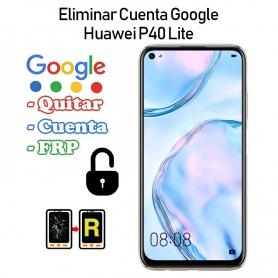 Eliminar Cuenta Google Huawei P40 Lite