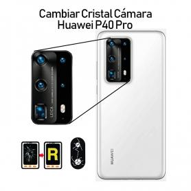 Cambiar Cristal Cámara Trasera Huawei P40 Pro