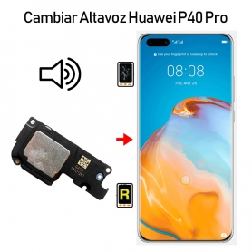 Cambiar Altavoz De Música Huawei P40 Pro