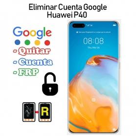Eliminar Cuenta Google Huawei P40