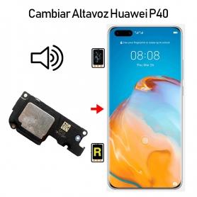 Cambiar Altavoz De Música Huawei P40