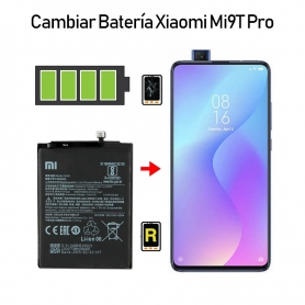 Cambiar Batería Mi 9T Pro