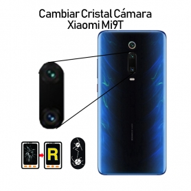 Cambiar Cristal Cámara Trasera Xiaomi Mi 9T