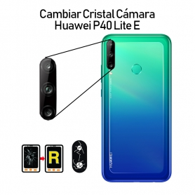 Cambiar Cristal Cámara Trasera Huawei P40 Lite E