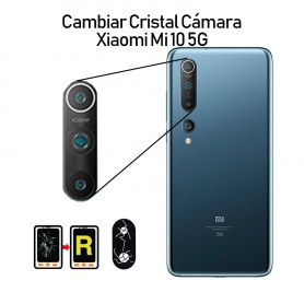 Cambiar Cristal Cámara Trasera Xiaomi Mi 10 5G
