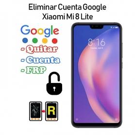Eliminar Cuenta Google Xiaomi Mi 8 Lite
