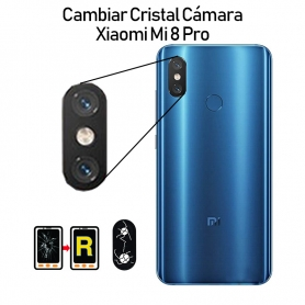 Cambiar Cristal Cámara Trasera Xiaomi Mi 8 Pro