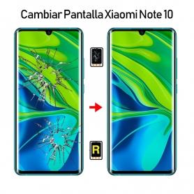 Cambiar Pantalla Xiaomi Mi Note 10