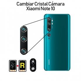 Cambiar Cristal Cámara Trasera Xiaomi Mi Note 10