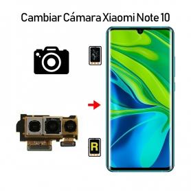 Cambiar Cámara Trasera Xiaomi Mi Note 10