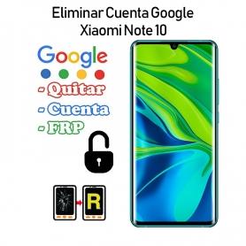 Eliminar Cuenta Google Xiaomi Mi Note 10