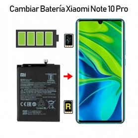 Cambiar Batería Xiaomi Mi Note 10 Pro