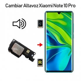 Cambiar Altavoz De Música Xiaomi Mi Note 10 Pro