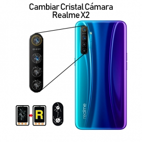 Cambiar Cristal Cámara Trasera Realme X2