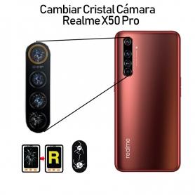 Cambiar Cristal Cámara Trasera Realme X50 Pro