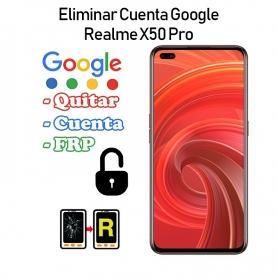 Eliminar Cuenta Google Realme X50 Pro