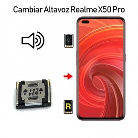 Cambiar Altavoz De Música Realme X50 Pro