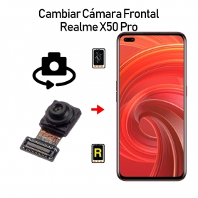 Cambiar Cámara Frontal Realme X50 Pro