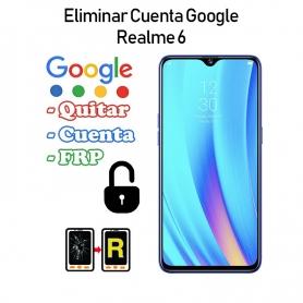 Eliminar Cuenta Google Realme 6