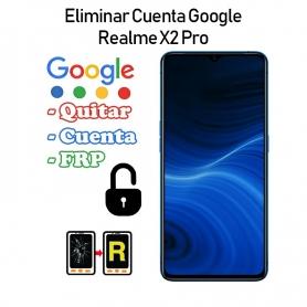 Eliminar Cuenta Google Realme X2 Pro