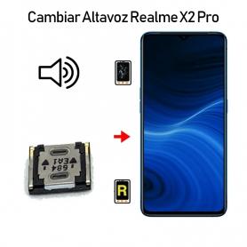 Cambiar Altavoz De Música Realme X2 Pro