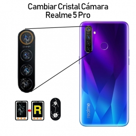 Cambiar Cristal Cámara Trasera Realme 5 Pro