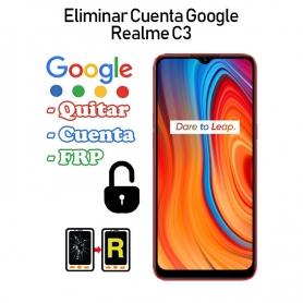 Eliminar Cuenta Google Realme C3
