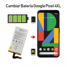 Cambiar Batería Google Pixel 4 XL
