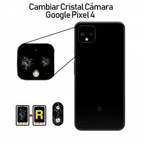 Cambiar Cristal Cámara Trasera Google Pixel 4