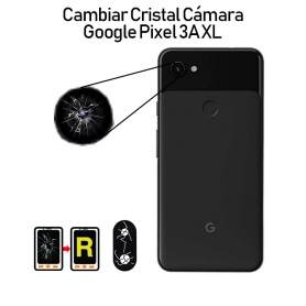 Cambiar Cristal Cámara Trasera Google Pixel 3A XL
