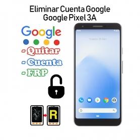 Eliminar Cuenta Google Google Pixel 3A