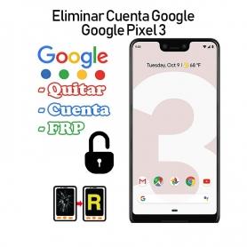 Eliminar Cuenta Google Google Pixel 3