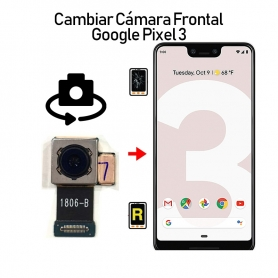 Cambiar Cámara Frontal Google Pixel 3