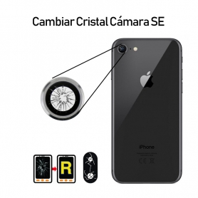 Cambiar Cristal Cámara Trasera iPhone SE 2020