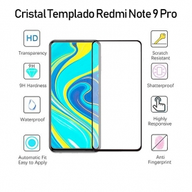 Cristal Templado Redmi Note 9S