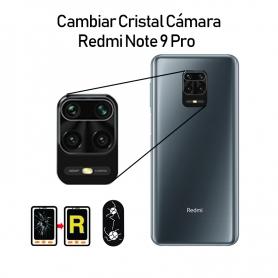 Cambiar Cristal Cámara Trasera Redmi Note 9S