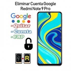 Eliminar Cuenta Google Redmi Note 9S