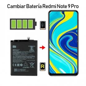 Cambiar Batería Redmi Note 9S