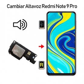 Cambiar Altavoz De Música Redmi Note 9S