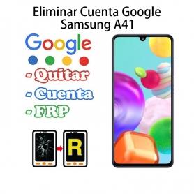 Eliminar Cuenta Google Samsung Galaxy A41